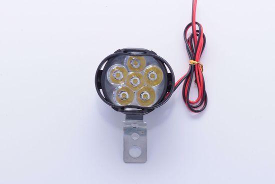 תמונה של פנס חשמלי 6 לדים 10V