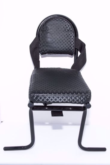 תמונה של מושב לסבל עם רצועת בטחון ורגליות | 7003